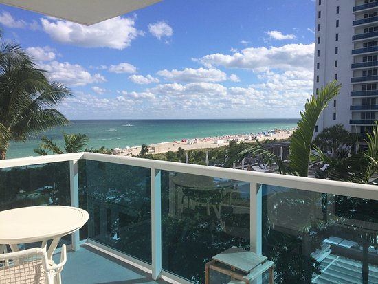 1 Hotel South Beach Ocean View Room With Balcony