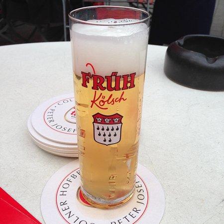 Delicious Früh Kölsch Beer