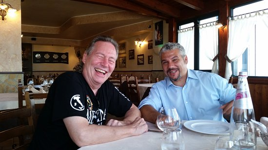 Sicily Limousine Service Day Tours: Having lunch with Alessio was always a blast