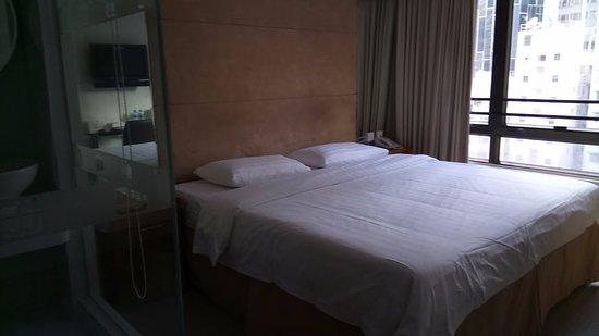 JJ Hotel: ベッド
