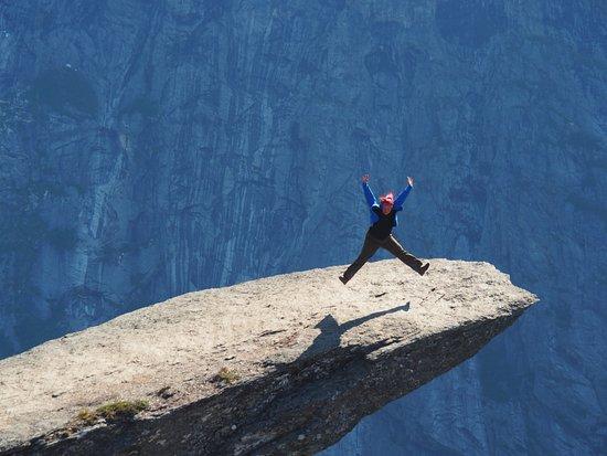Odda, Norway: И попрыгать