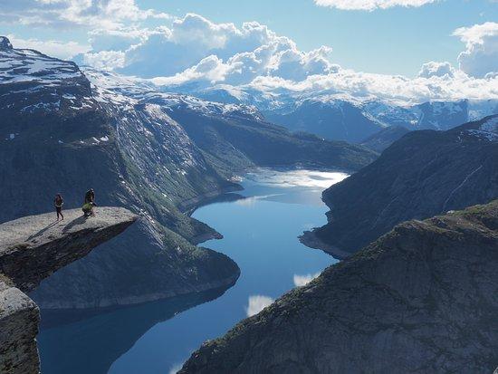 Odda, Norway: Вид на фьорд