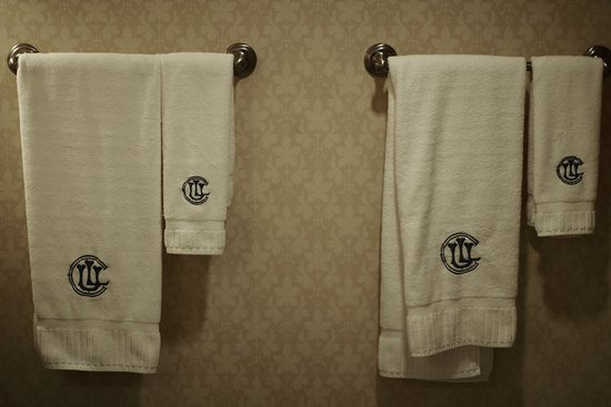 Union League Club : Inscribed Towels
