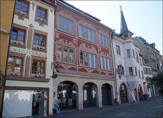 Mulhouse Frankreich maison mieg place de la réunion bild mulhouse haut rhin