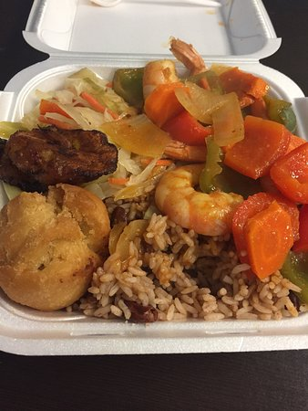 Island sizzle caribbean restaurant restaurant 190 s for Authentic jamaican cuisine