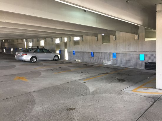 Carrboro, Βόρεια Καρολίνα: Parking garage, $10 a night