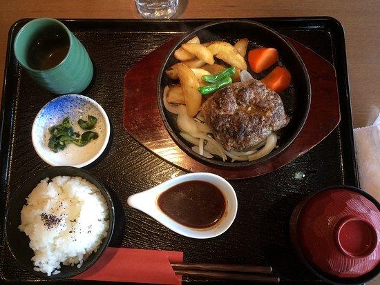 Yabu, Japón: ハンバーグランチ