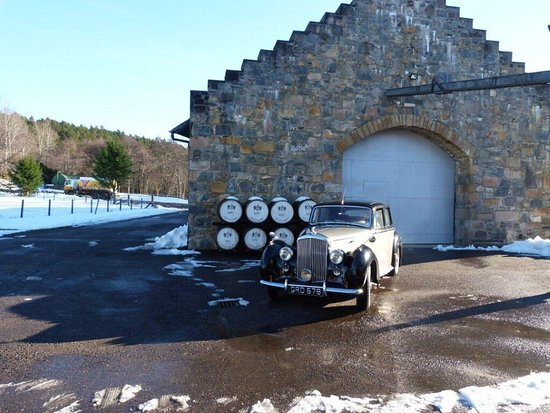 Grantown-on-Spey, UK: Fabulous tours in vintage Bentleys in Speyside  Cairngorms Loch Ness Scottish highlandsvisiting