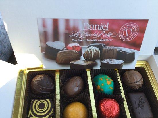 Penticton, Kanada: Chocolate from Info Centre