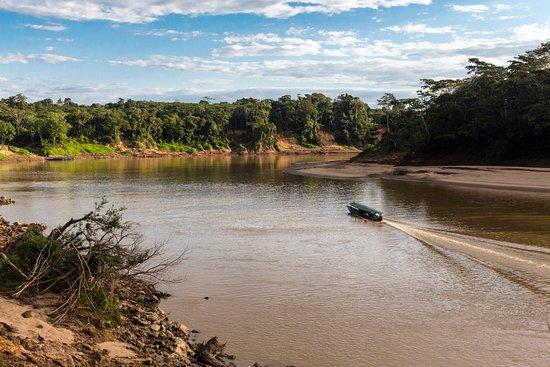 Refugio Amazonas: Getting there is fun!