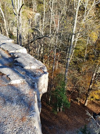 Shady Valley, TN: Gorgeous views at Backbone Rock