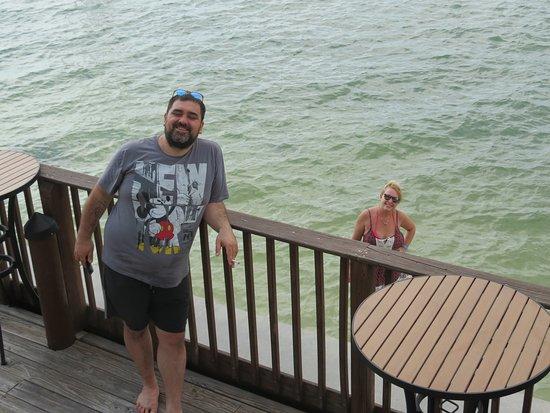 Lovers Key Resort: Vista desde el Bar