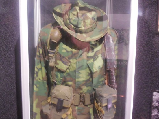 Uniform - Vietnam era - Picture of Marine Corps Command Museum, San