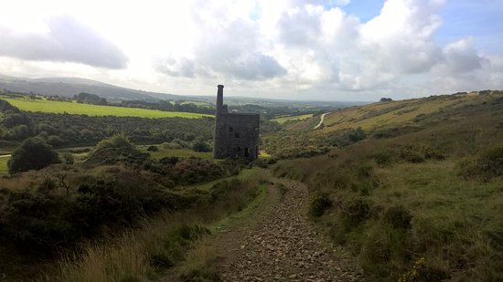 Tavistock, UK: View of Wheal Betsy