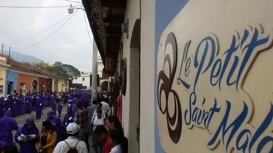 Le Petit Saint Malo: During Holy Week