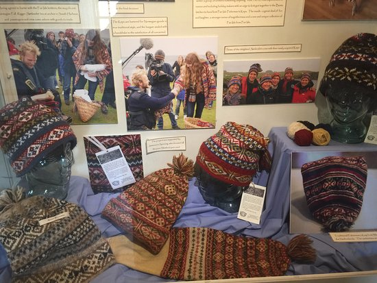 Fair Isle knitting - Picture of Shetland Textile Museum, Lerwick ...