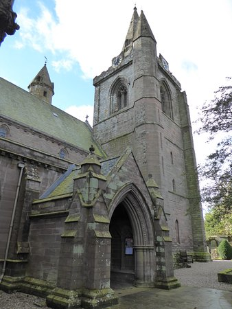 Brechin Cathedral entrance