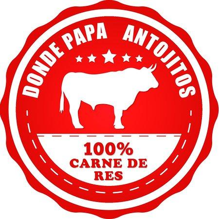 Grecia, Kosta Rika: Hamburguesas 100% carne de Res