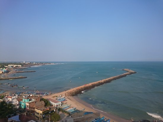 Hotel Maadhini: From the rooftop