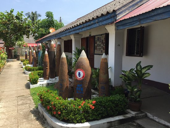 UXO Laos Visitor Center Photo