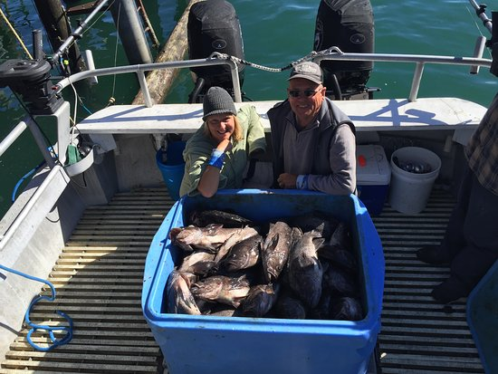 Kodiak, AK: 1,000 pounds of fish caught in 5 hours