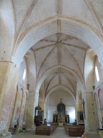 Saint-Avit-Senieur, Francja: Church Interior