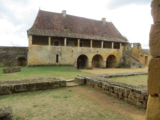 Saint-Avit-Senieur, France: Abbey Outbuildings