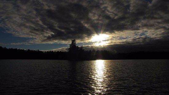 Massasauga Provincial Park: Sunset