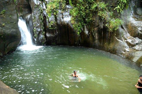 Karuvarakundu, الهند: The falls