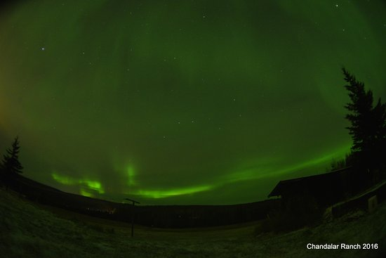 Chandalar Ranch: Auroras!