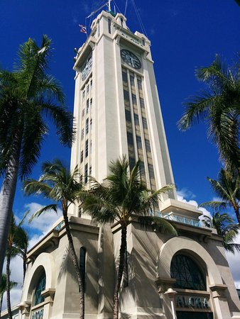 Aloha Tower Marketplace: The Aloha Tower