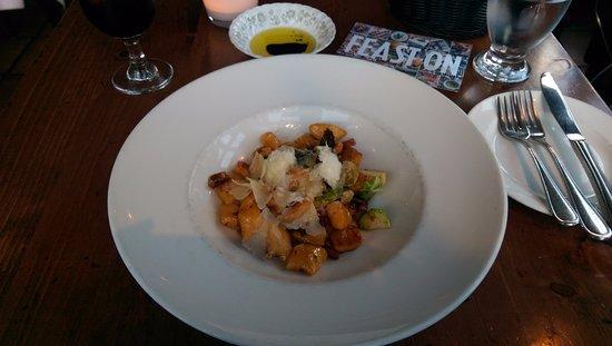 Trattoria Azzurra: Sweet potato gnocchi