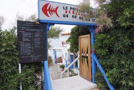 La carte en 2016 photo de le poisson rouge port vendres for Prix entree poisson rouge wintzenheim