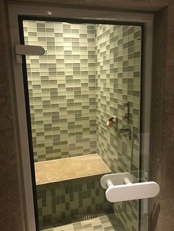 Park Hyatt Istanbul - Macka Palas: Terrace Suite Shower/Steam Room