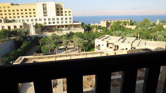 View from the Yarmouk wing over the noisy Kempinski rear