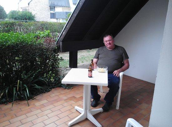 Résidence Goélia Bleue Océane : A la terrasse