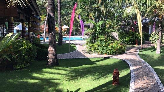 Hotel Palm Garden : Sakin huzur verici bir yer