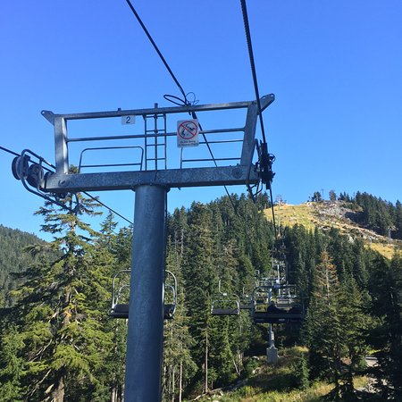 Red Skyride At Grouse Mountain Picture Of Grouse Mountain North Vancouver Tripadvisor