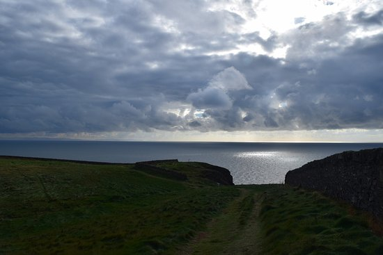 Mull of Galloway, UK: A view from the Mull