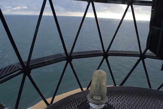 Mull of Galloway, UK: A view from inside the top most part of the lighthouse