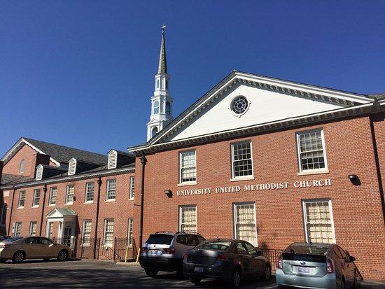 University of North Carolina: University methodist church