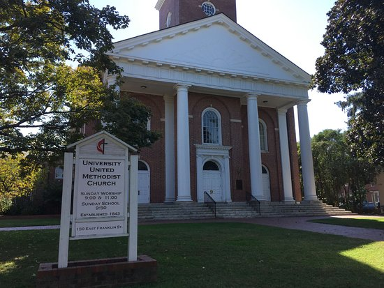 University of North Carolina: University methodist church