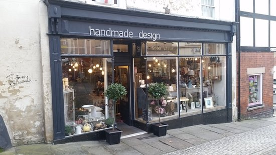 Ashbourne, UK: Handmade Design