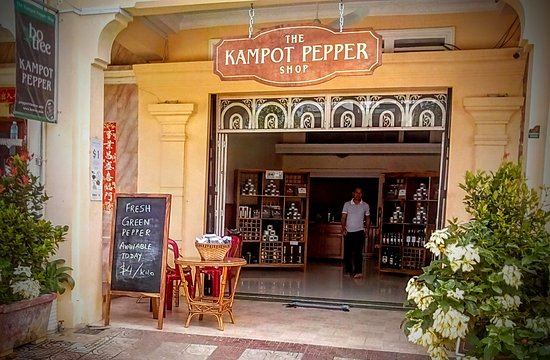 ‪The Kampot Pepper Shop‬
