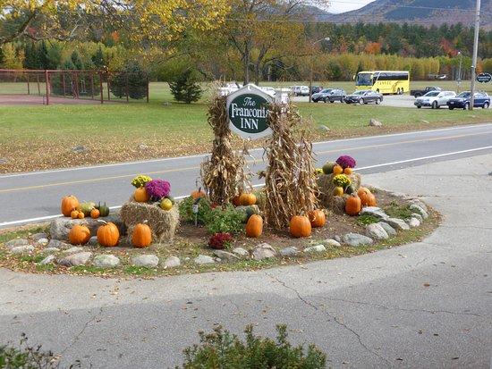 Franconia Inn: Pumpkins galore