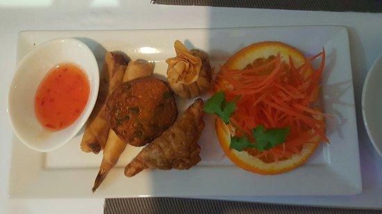Mixed Entree - Sala Thai Restaurant Tugun