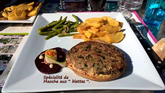 Saint-Melany, Γαλλία: La Maoche aux blettes.