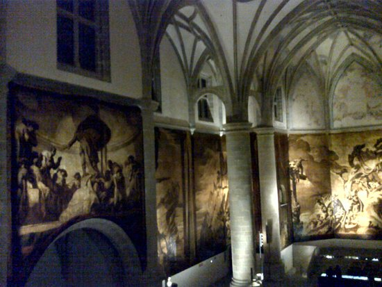 San Telmo Museoa : Iglesia.