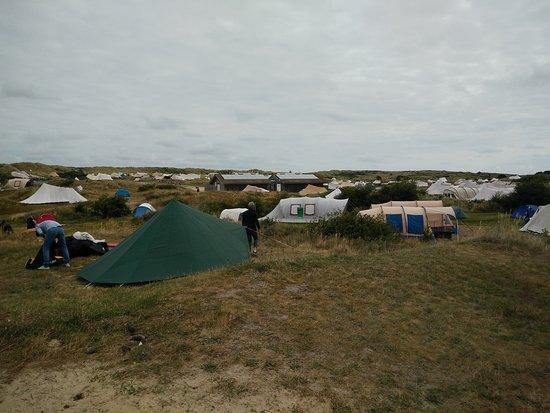 Camping Stortemelk: Vista area campeggio