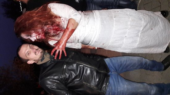 Les Avenieres, Γαλλία: Théme halloween vraiment réussi